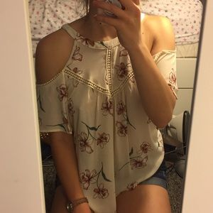 Tops - NWT Off the shoulder blouse